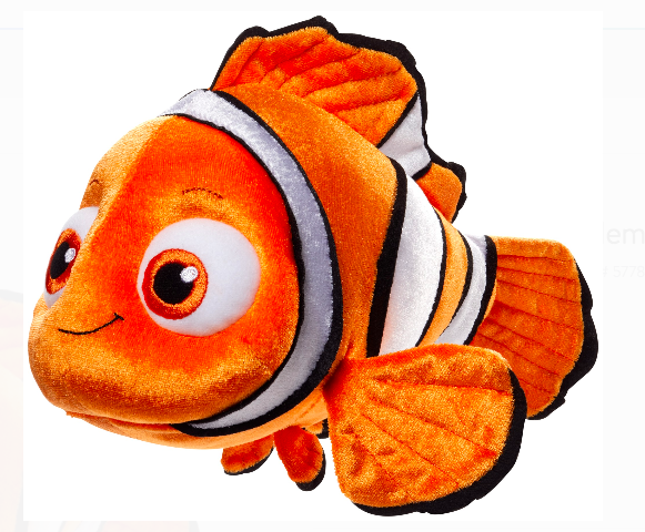Finding Nemo & Dory Stuffed & Squeaky Dog Toys: All Sizes - Glad Dogs Nation | www.GladDogsNation.com