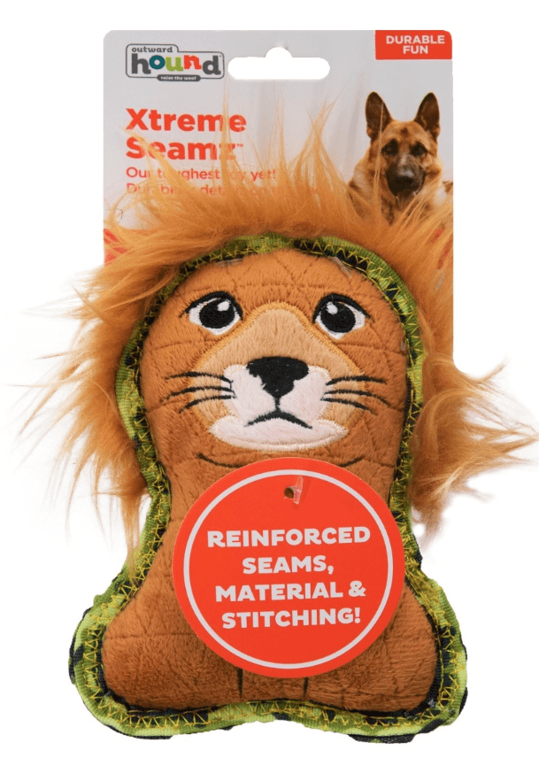 Outward Hound Xtreme Seamz Lion: All Size Dogs CHEAPER THAN CHEWY!
