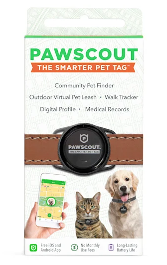 $5 OFF! Pawscout Smarter Pet Tag for Cats & Dogs