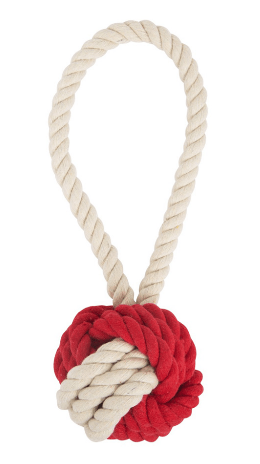 Harry Barker Cotton Rope Tug and Toss Toy: 2 Sizes