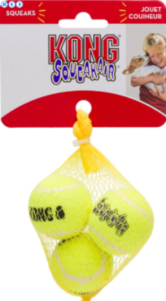 10% OFF! 3-Pack KONG SqueakAir Balls: XSmall & Small - Glad Dogs Nation | www.GladDogsNation.com