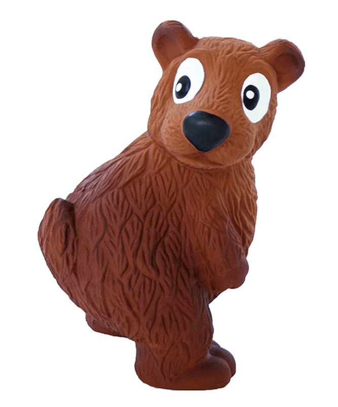 NEW! Outward Hound Tootiez Bear Grunting Dog Toy
