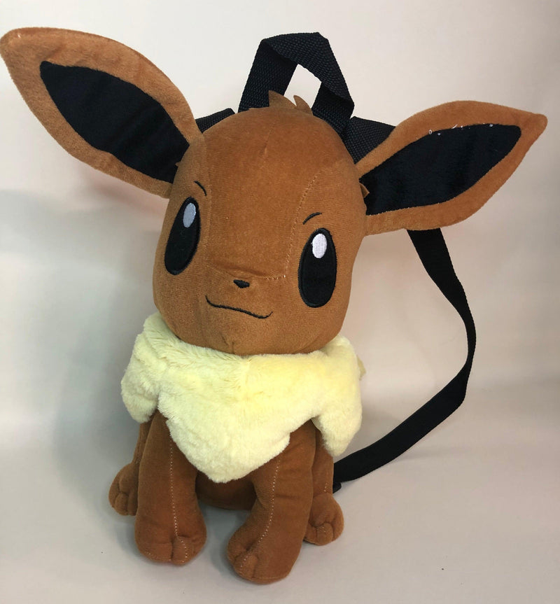 "Pokemon Eevee 14"" Plush Backpack by Nintendo 2015"