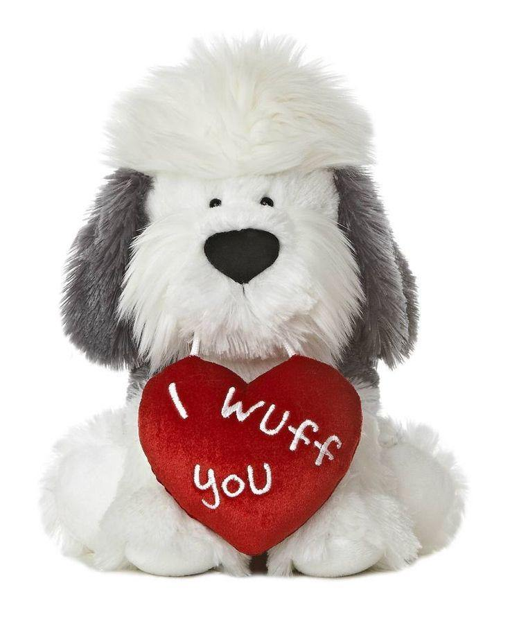 Extra Large SQUEAKY Love Toys: Stuffed