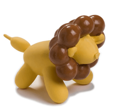 NEW! Charming Pet Balloon Lion Squeaky Latex Dog Toy CHEAPER THAN CHEWY