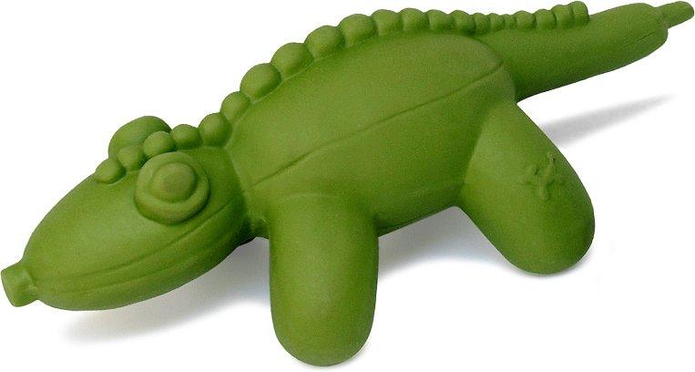 NEW! Charming Balloon Gator Squeaky Latex Dog Toy: Large