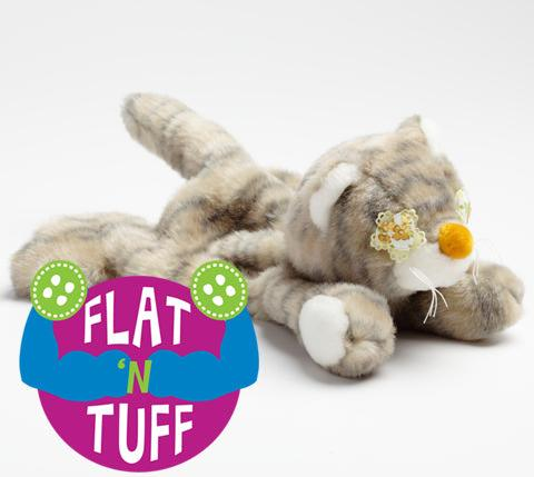 Small Flat 'n Tuff: No Stuffing, Squeak or Not for Always Faithful Animal Rescue