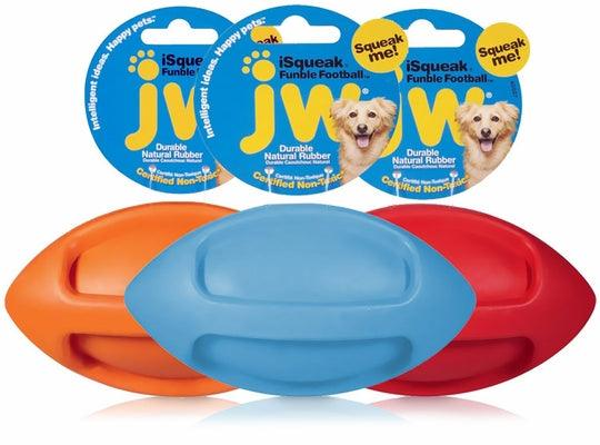 "JW iSqueak Funble Football: 7"" & 9"""