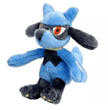 Pokemon Stuffed & SQUEAKY Dog Toys: All Sizes