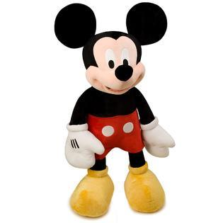 40% OFF! Mickey Mouse Stuffed & SQUEAKY Dog Toys: All Sizes