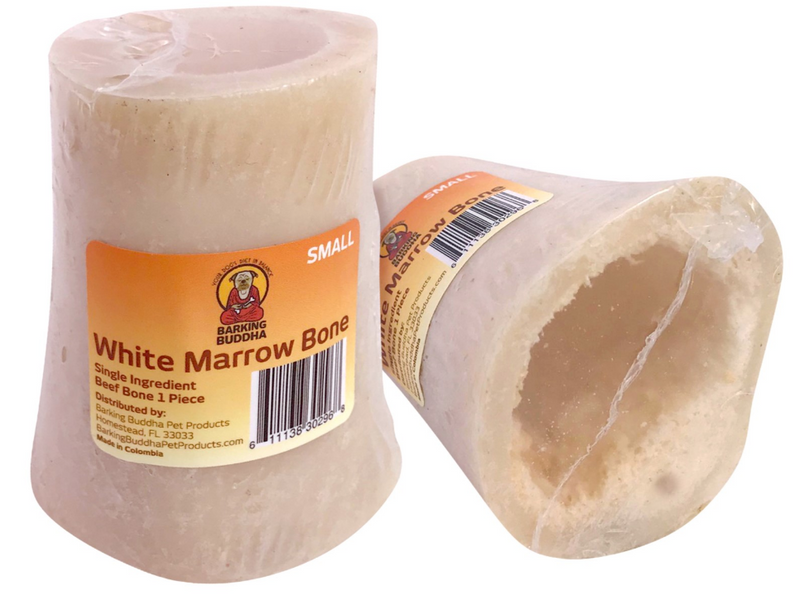 Barking Buddha White Marrow Bones: Small, Medium & Large Dogs - Glad Dogs Nation | www.GladDogsNation.com