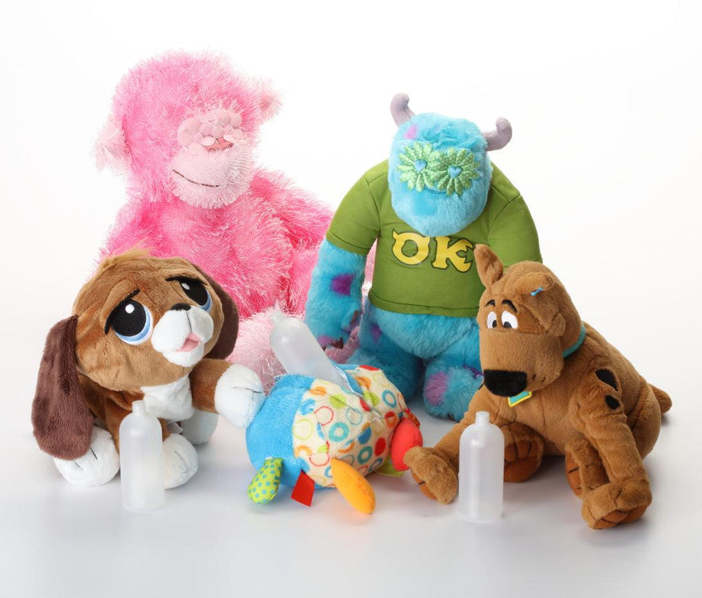 """Squeak or Not"" Removable Squeaker Dog Toys: Tiny - XL Toys"