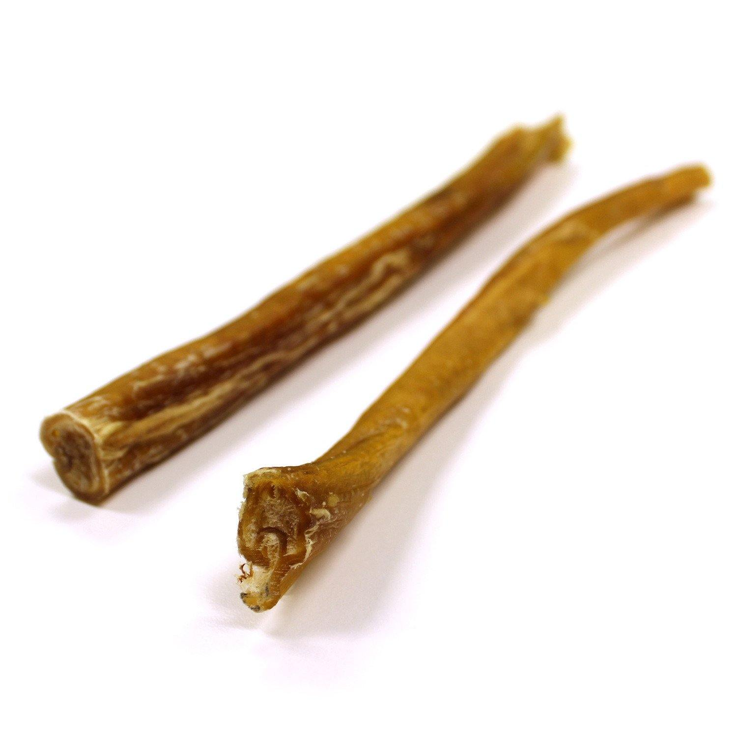 "6"" Beef Bully Sticks 2-Pack: Standard & Thick"