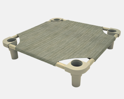 "4Legs4Pets Elevated Dog Bed: 52""x30"" - Glad Dogs Nation 