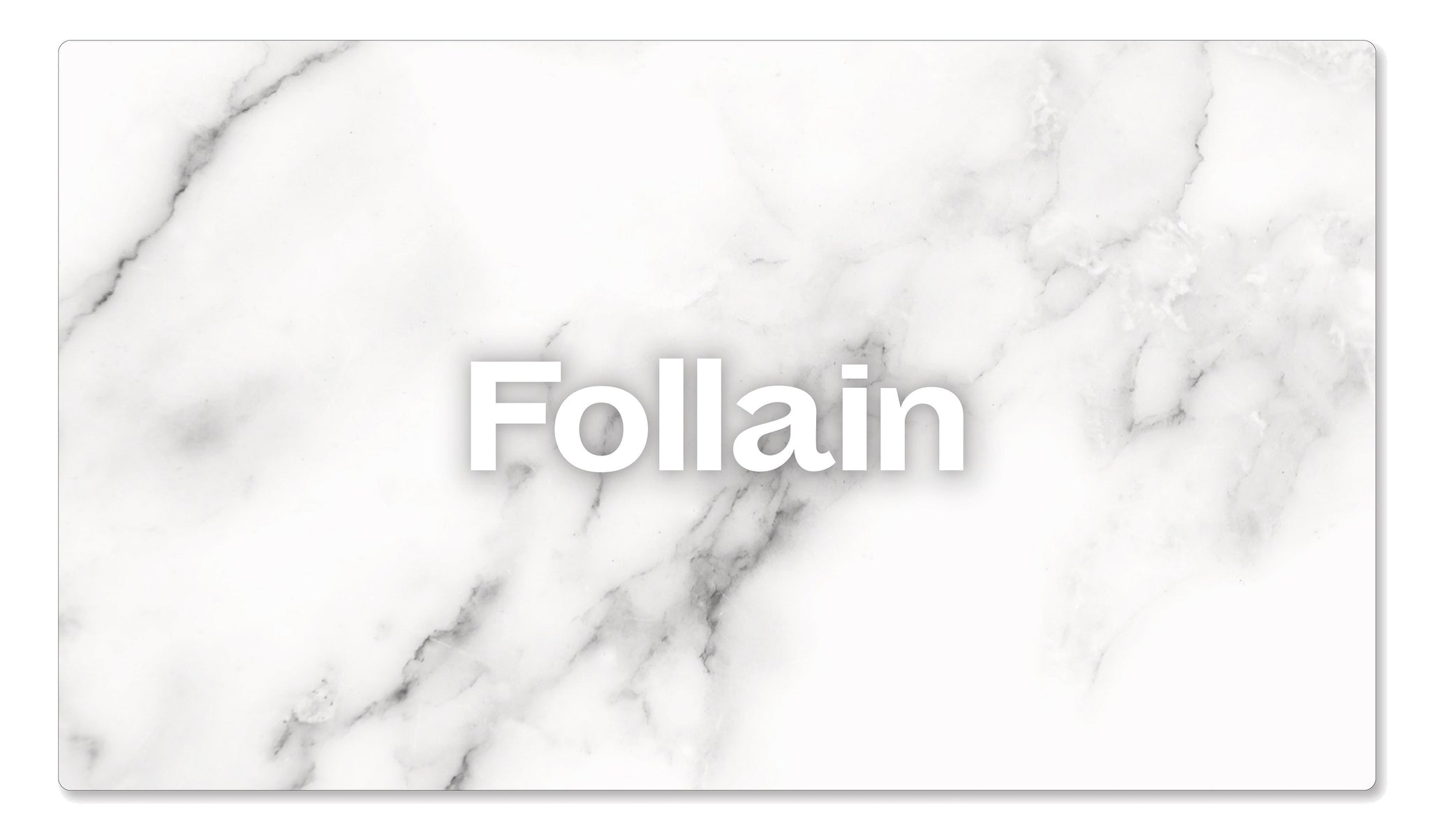 Follain eGift Card