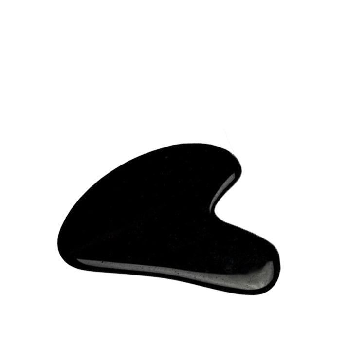 The Black Obsidian Gua Sha Facial Lifting Tool