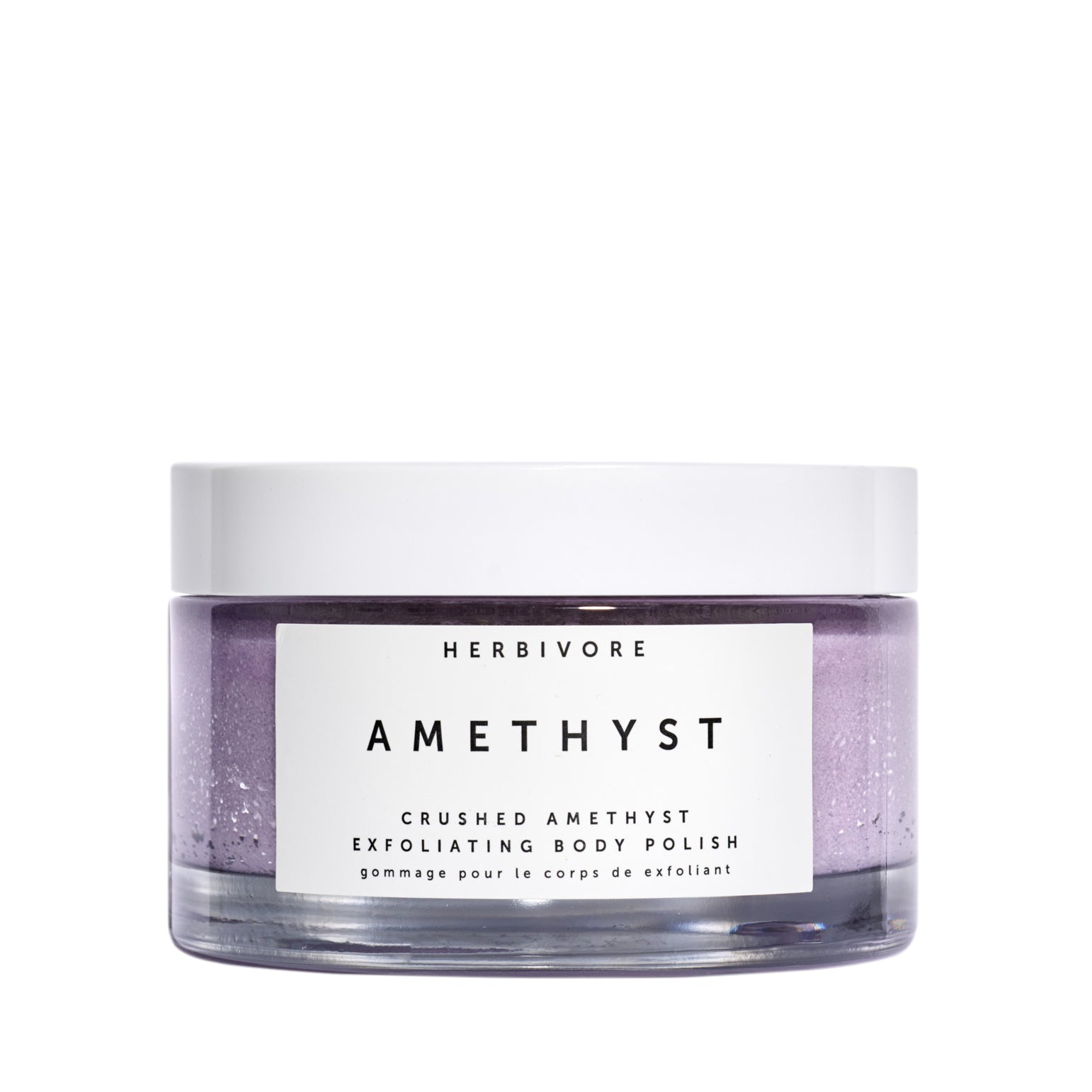 Amethyst Gemstone Body Scrub
