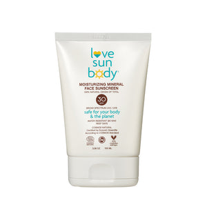 Moisturizing Mineral Face Sunscreen SPF 30
