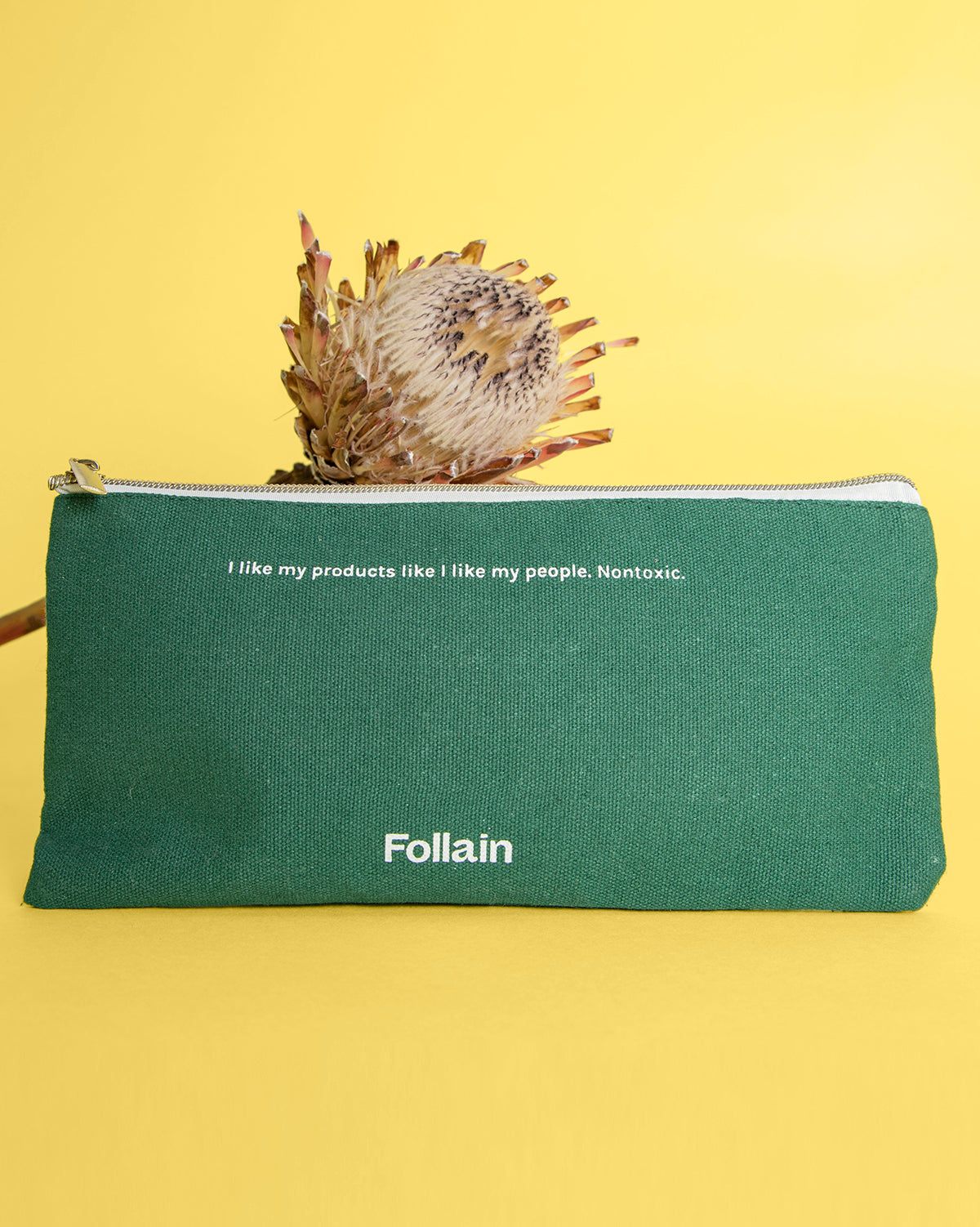 Follain go clean pouch