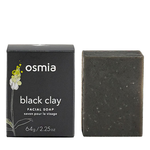 817191020003 - Osmia Black Clay Facial Soap
