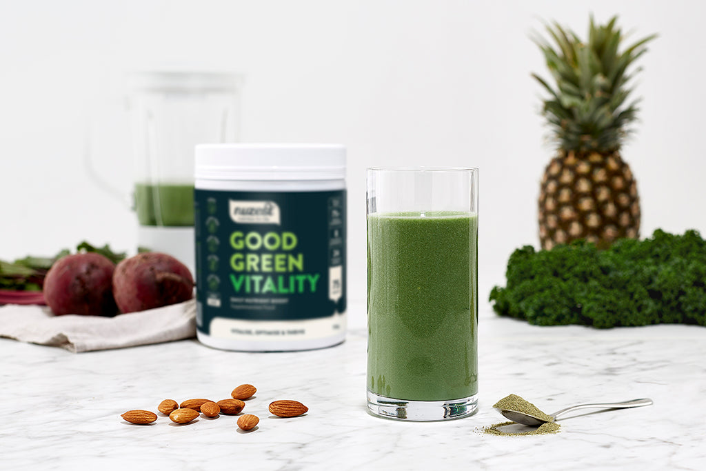 Why Good Green Vitality helps your body perform at it's best