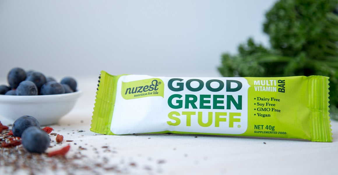 Nuzest launches Good Green Stuff multi-vitamin bar