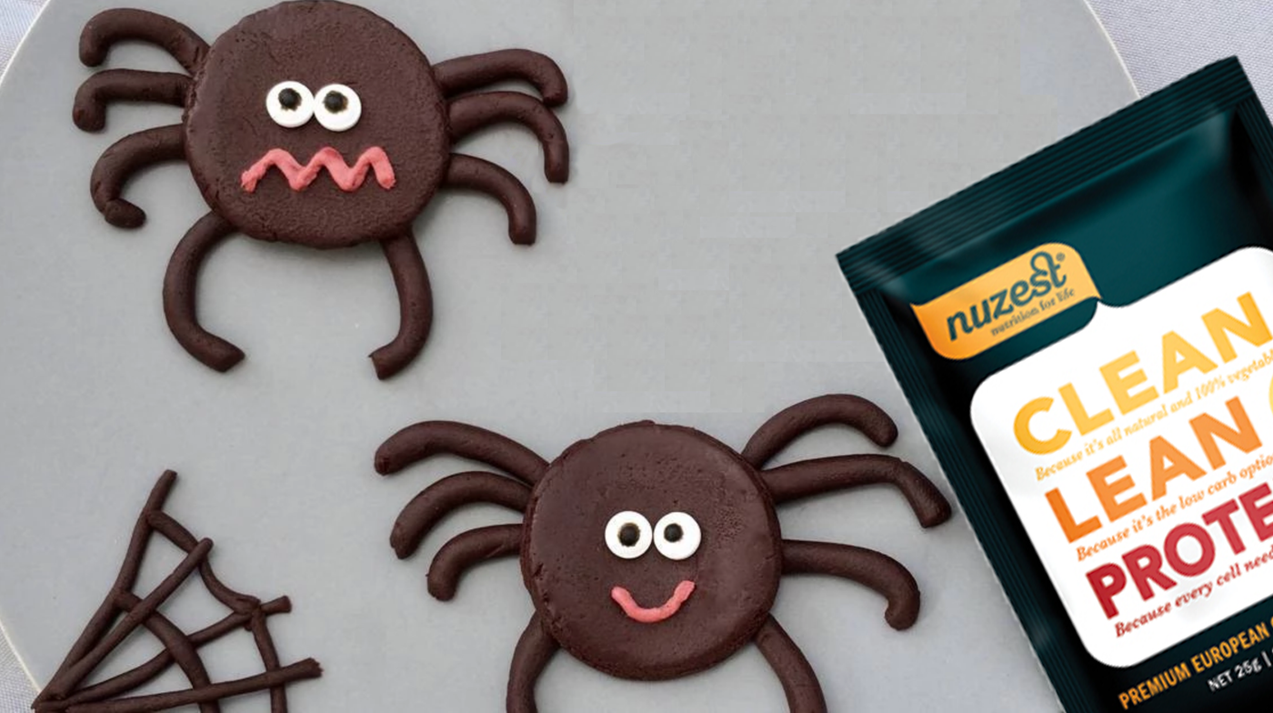 Healthy Chocolate Spiders