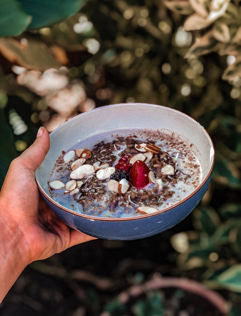 Protein Mocha Brown Rice Porridge