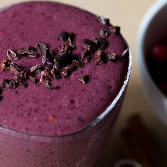 Rich Chocolate Berry Smoothie