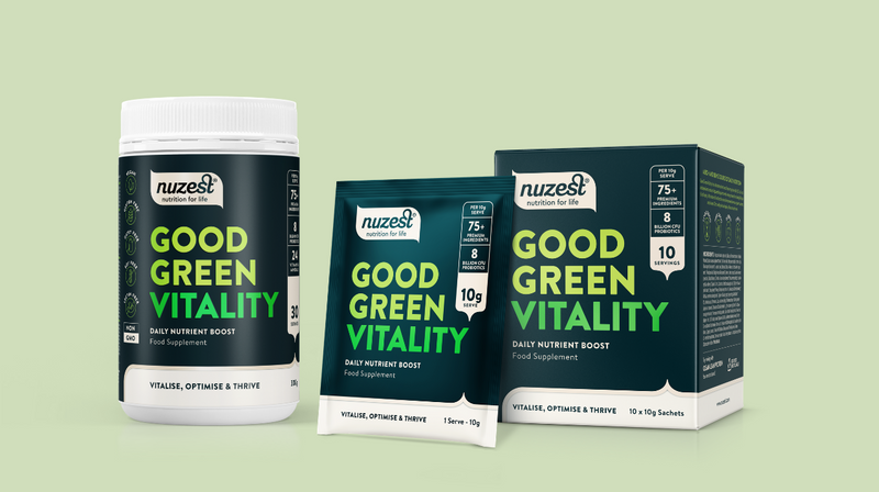 Why Good Green Vitality helps your body preform at it's best