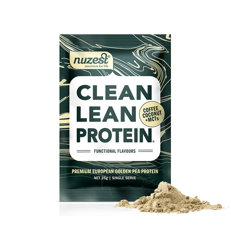 "<img src=""Coffee-Coconut-MCTs-25g-1-serve-Clean-Lean-Protein-Functional Flavours Sachet Pack"" alt=""Coffee Coconut MCTs 25g 1 serve Clean Lean Protein Functionals Flavours Sachet Pack"""