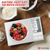FitFam™ Nutritional Data Kitchen Scale