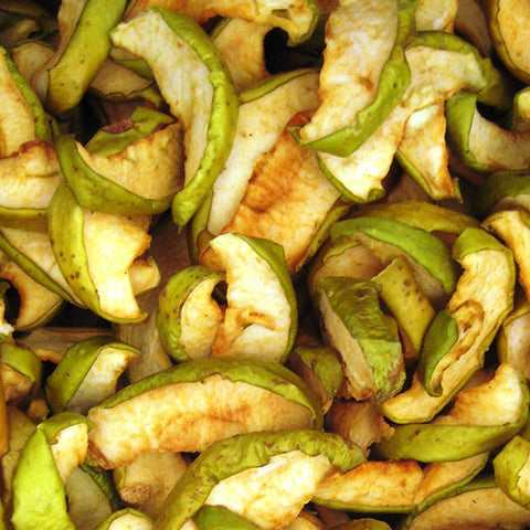 Organic Biodynamic Dried Apple Wedges