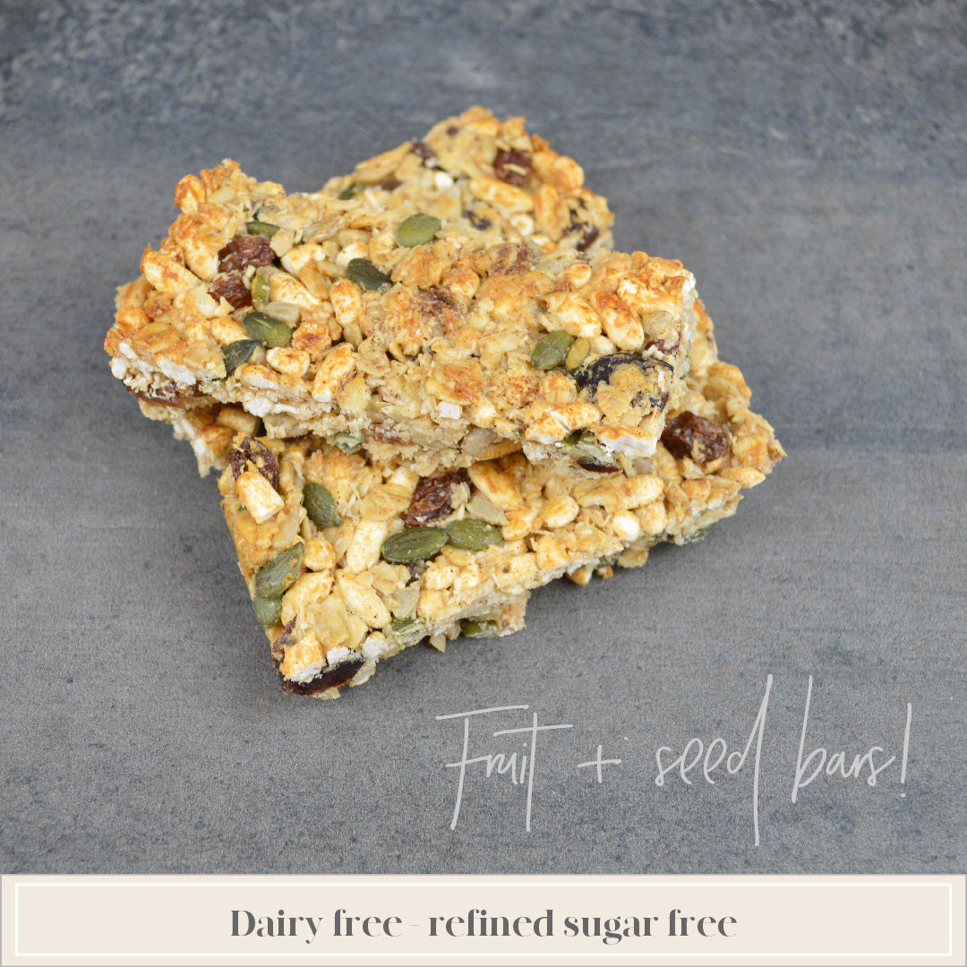 Fruit + Seed Bars