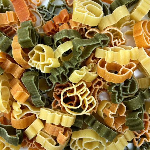Organic Zoo Pasta with Tomato & Spinach