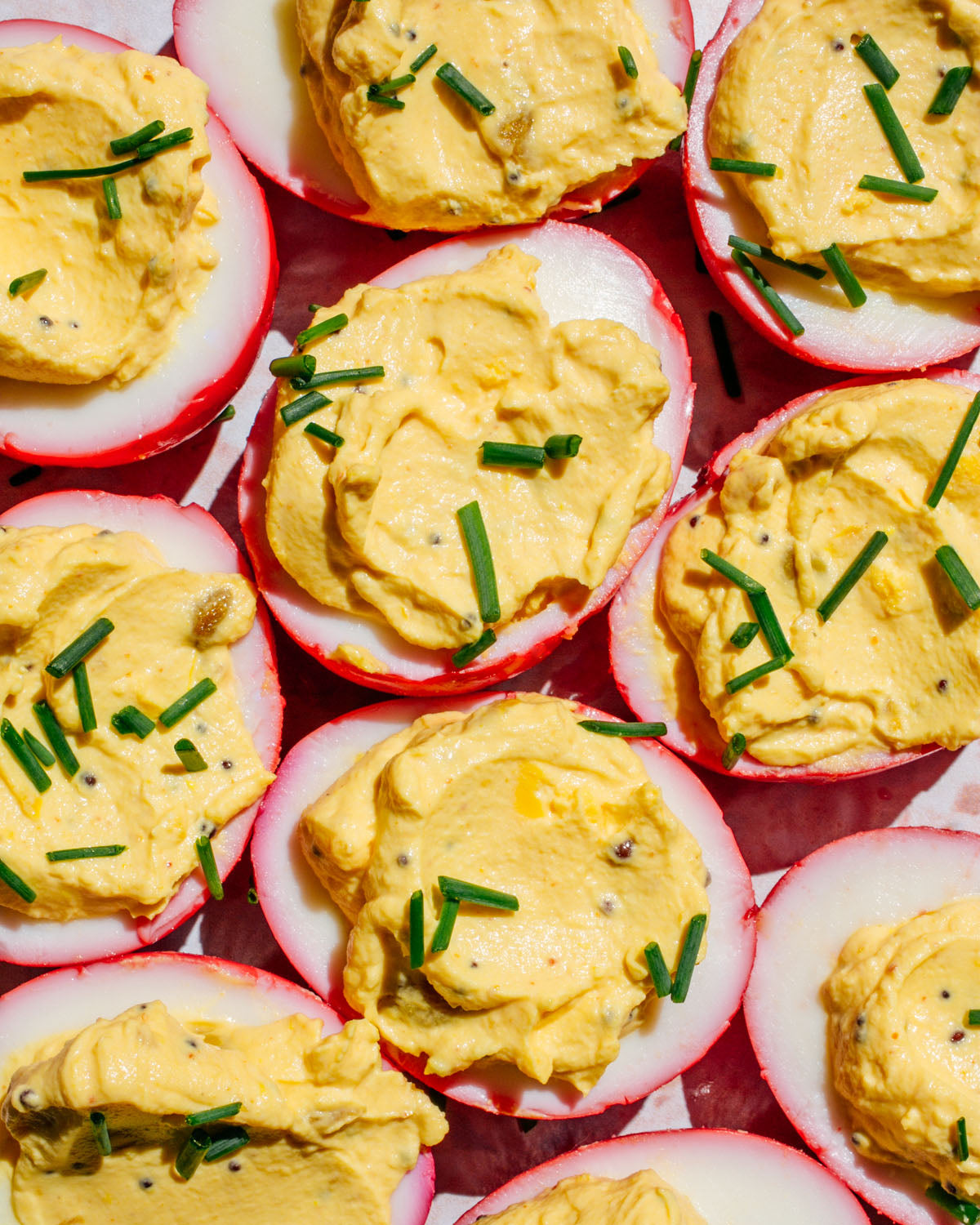 Brooklyn Delhi Deviled Eggs {RECIPE}