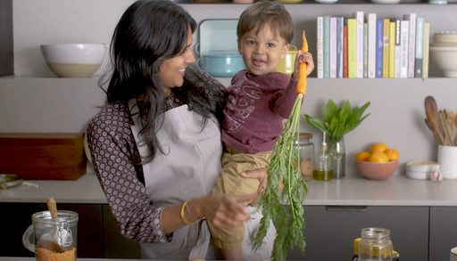 Making Coconut Dal & Turmeric Rice w/ Alok @ Food52 {VIDEO}