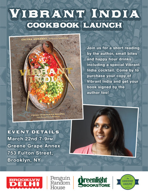 Our Cookbook Launch Party 3/22