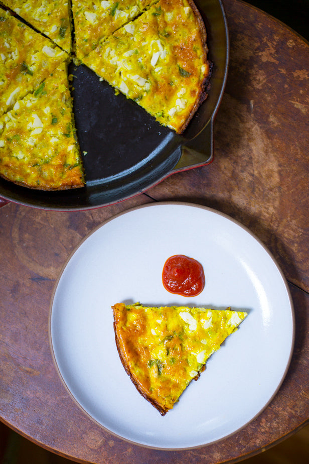 Bombay Frittata from Nik Sharma's Season Cookbook