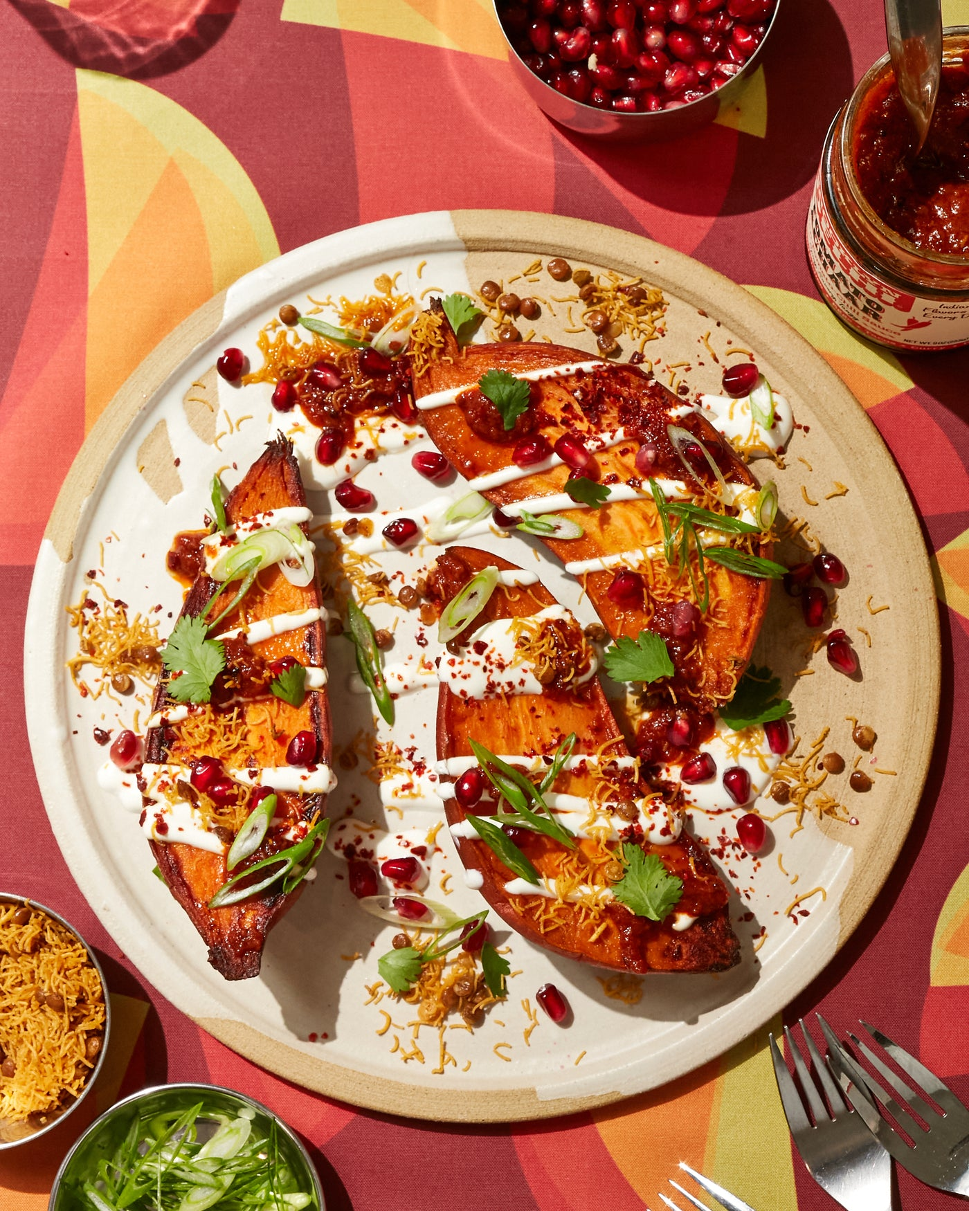 Sweet Potato Chaat {Recipe}
