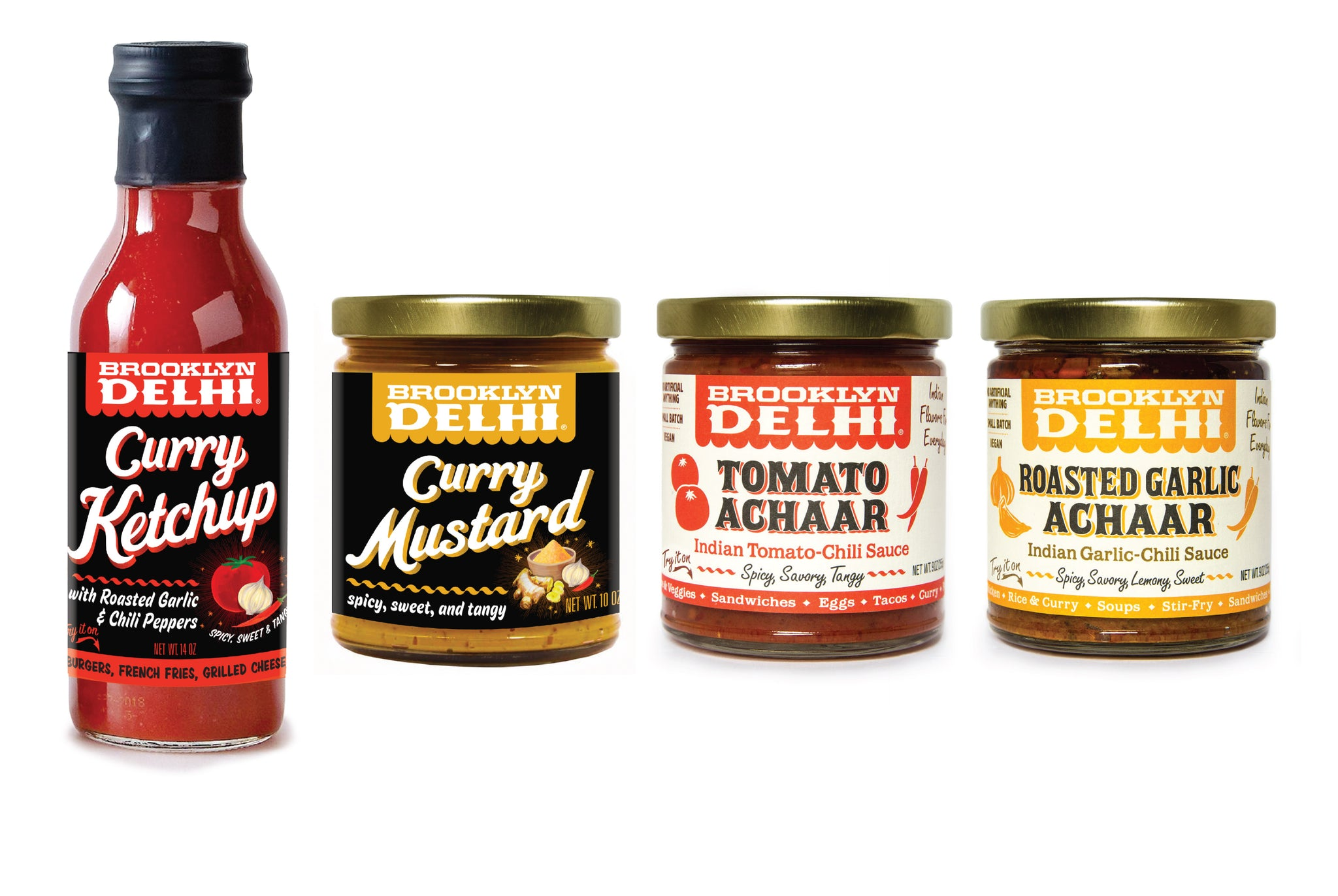 Brooklyn Delhi Sampler Pack - All 4 Flavors