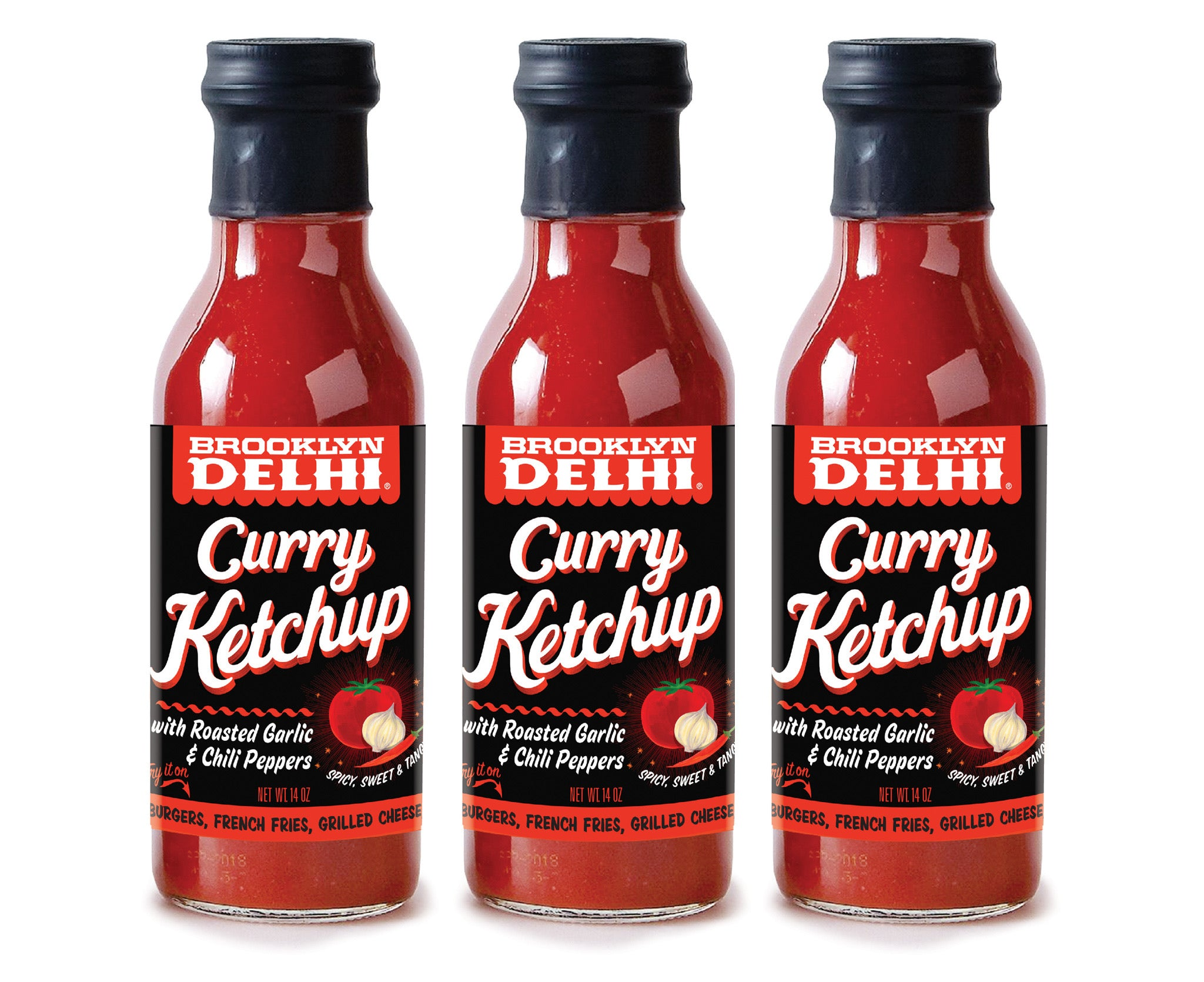 Curry Ketchup 3-Pack