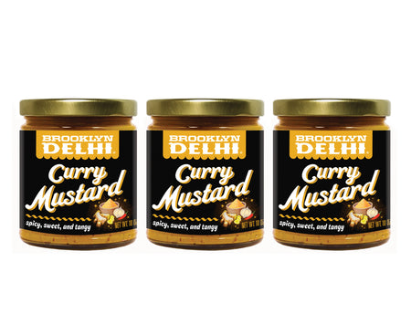 Curry Mustard 3-Pack