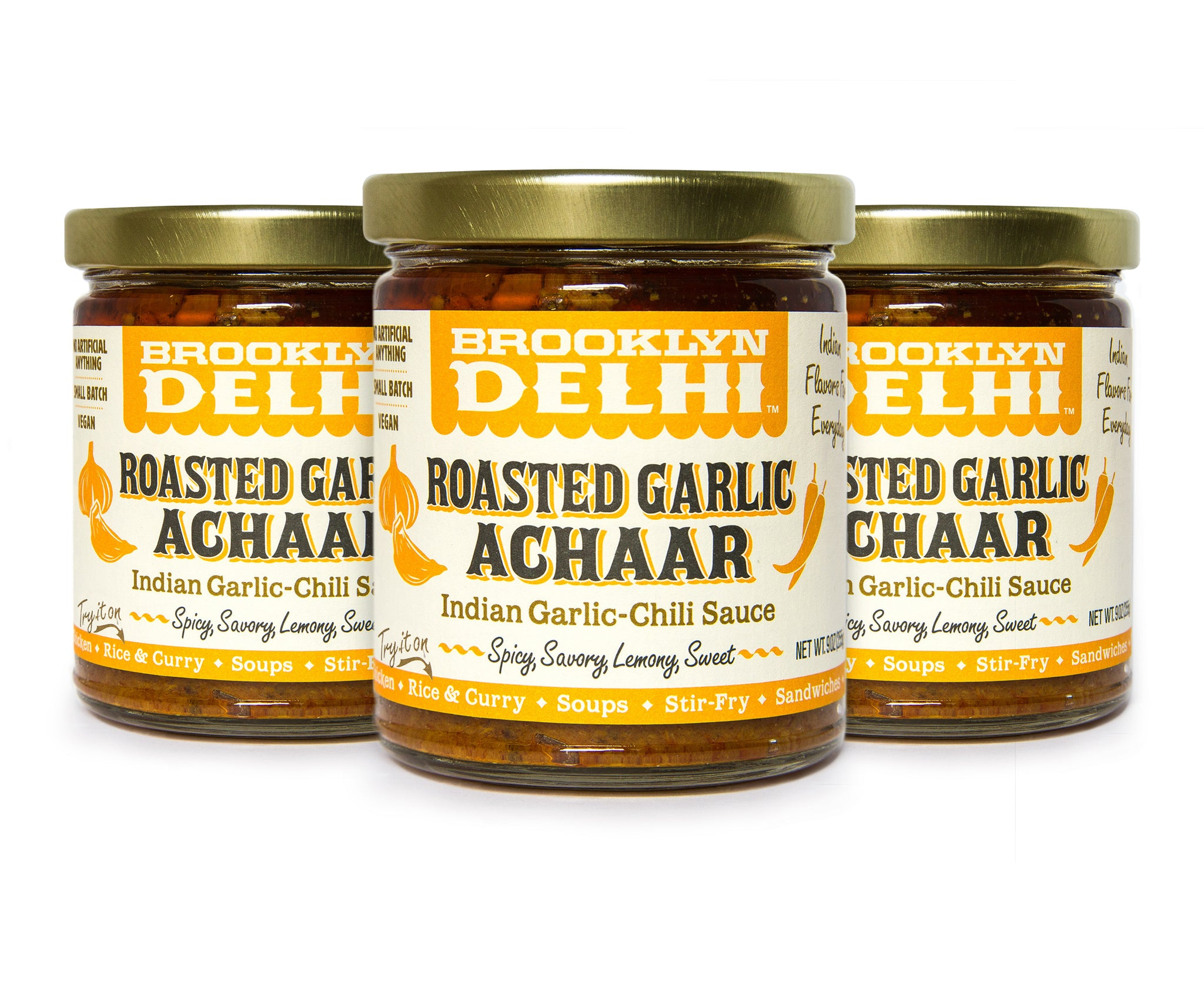Roasted Garlic Achaar 3-Pack