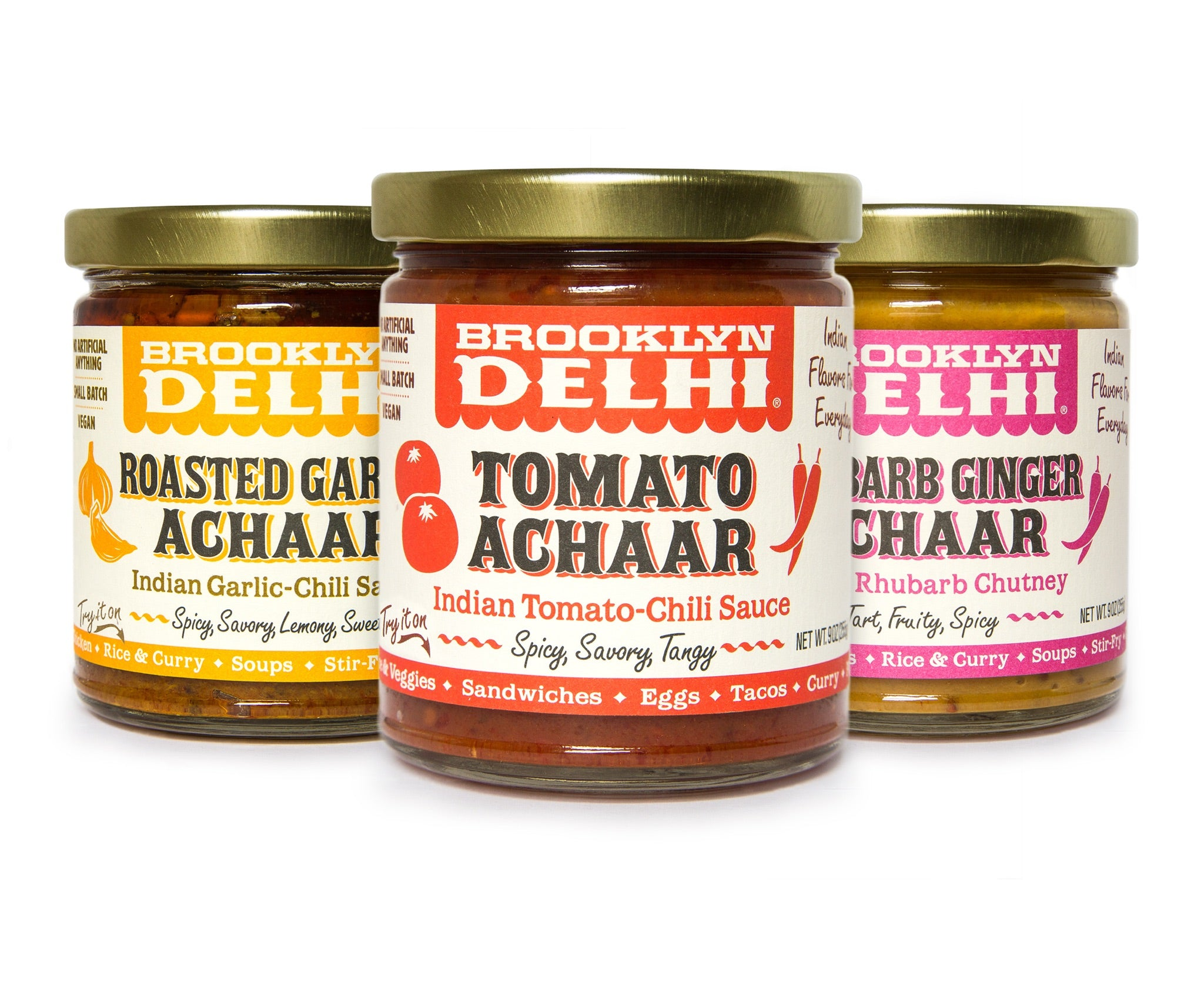 Brooklyn Delhi Achaar Sampler 3-Pack