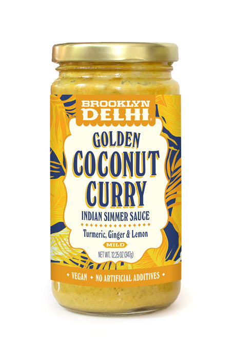 Golden Coconut Curry Simmer Sauce - Coming Soon!