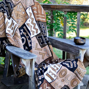 African Mudcloth in Designer Pillows