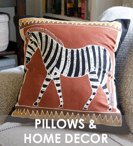 Tribal Textiles Pillows & Home Decor