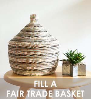 FILL A FAIR TRADE BASKET