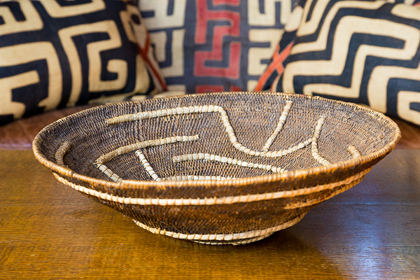 African Makenge Baskets Woven In Zambia Swahili Modern